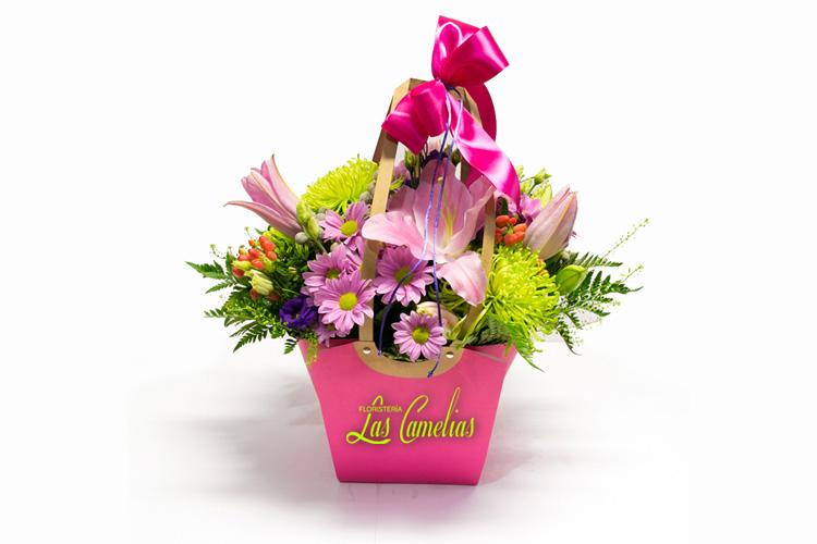Centro de Flores Fantasy Bag