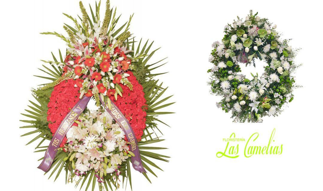 Decoración floral para difuntos