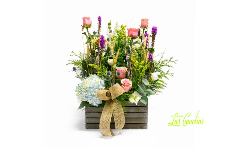 Rustic Box Regalos Flores