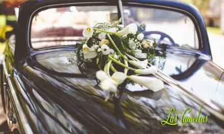 El coche de la novia.