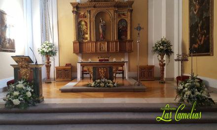 Decorar la iglesia con flores
