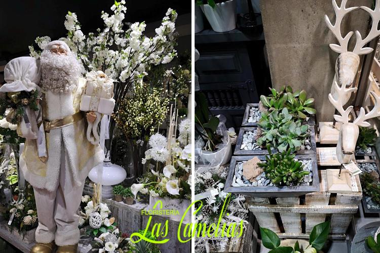 Decoración floral Navidad Madrid floristería