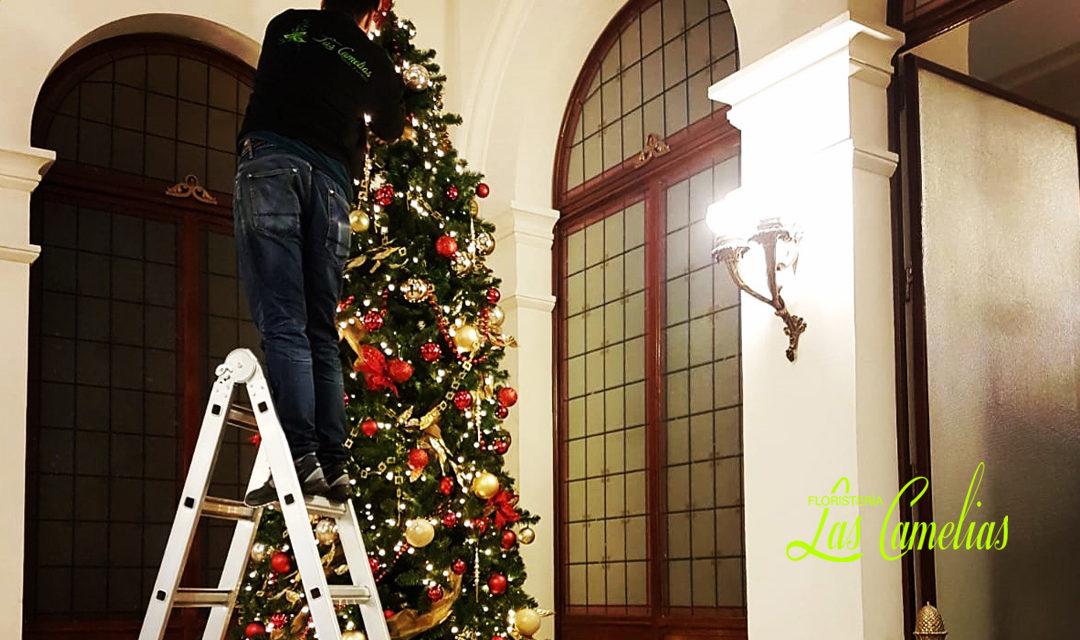 Decoración de empresas en Navidad