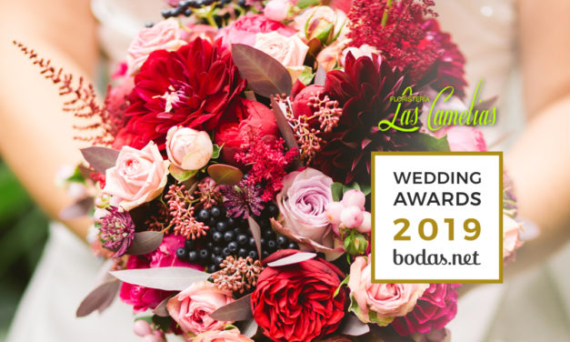 Floristería Las Camelias galardonada con el Wedding Awards 2019 by Bodas.net