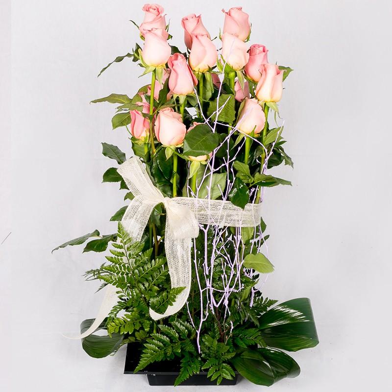 Centro de Rosas para el Día de la Madre