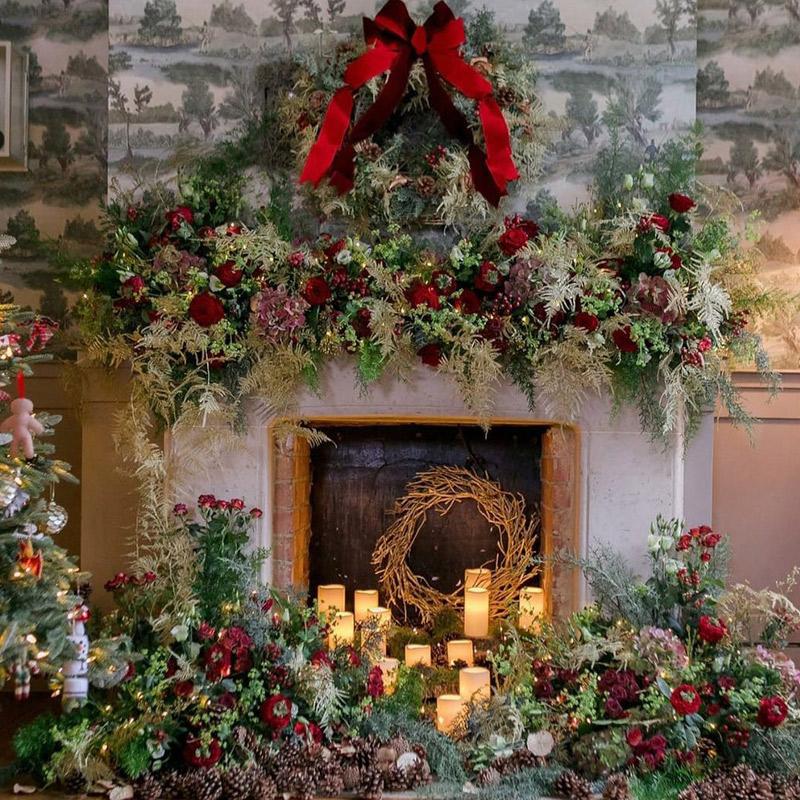 Decoración Navidad Nochebuena Nochevieja hogares Madrid