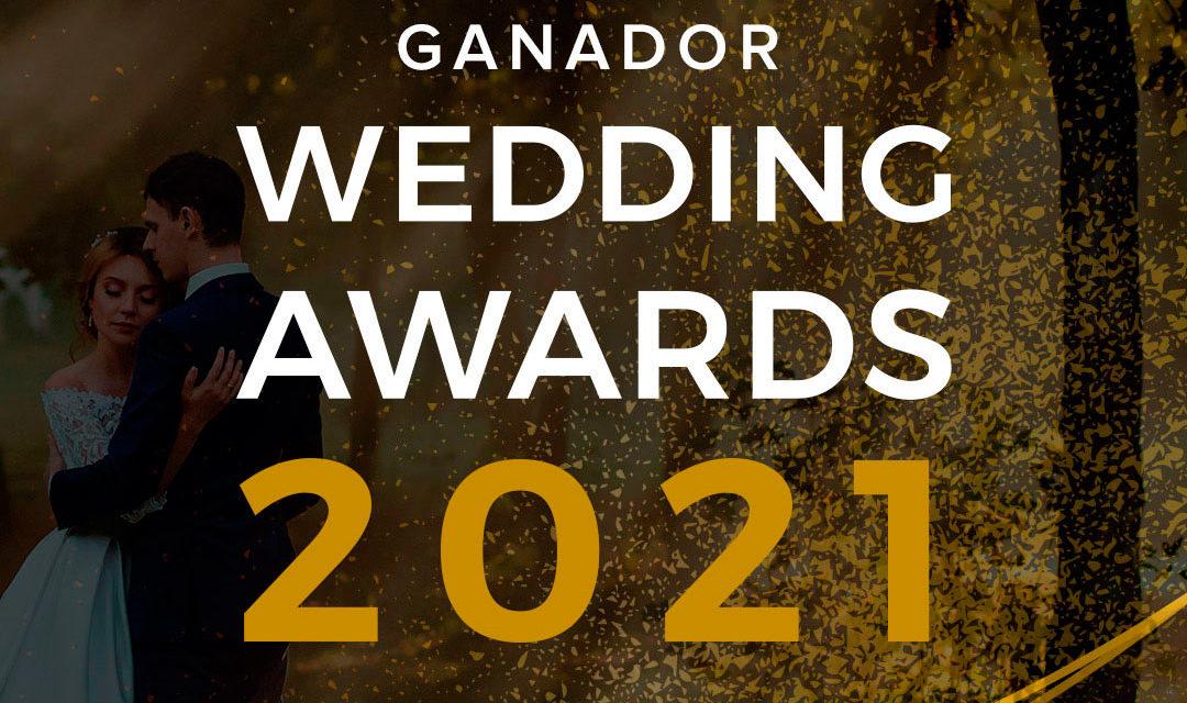 Las Camelias Floristería premio Wedding Awards 2021