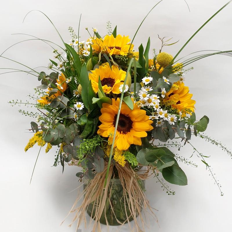 Ramo de Flores Yellow Flight